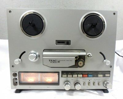 VINTAGE TEAC X300 TAPE DECK REEL TO REEL RECORDER WITH New Belts