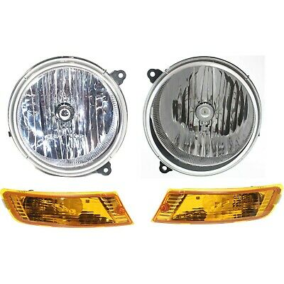 Genuine Chrysler Parts 5101820AA Passenger Side Headlight Assembly Composite