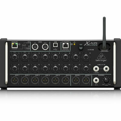 Behringer X AIR XR18 18-Ch 12-Bus Digital Mixer for iPad/Android Tablet New