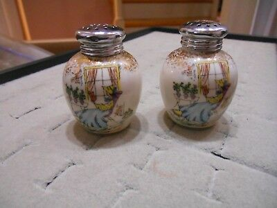 Kronach Bavaria Hand Painted Salt Pepper Shakers