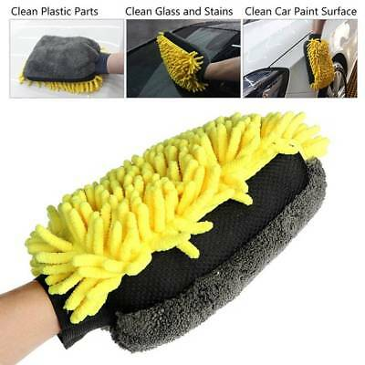 Multi-function 3 in 1 Car Wash Gloves Car Cleaning Brush Microfiber Auto Care