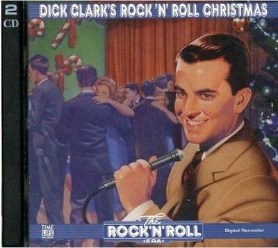 Dick Clark's Rock N Roll Christmas 2 CD Set 1997 Time Life Musique 40 Titres Oop