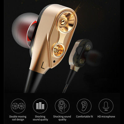 Bluetooth 4.2 Super Bass Music In ear Stereo Headphone Headset Earphone Earbuds
