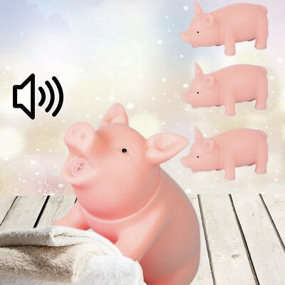 Cute Cartoon Mini Pig Funny Screaming Sound Pig Doll Vocal Squeaky Baby Pet Toys