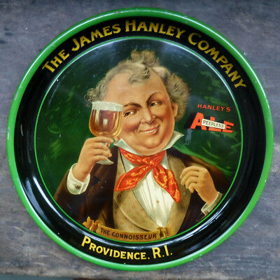 Hanley's Peerless Ale Tray Post-Prohibition 1930s NICECondition The Connoisseur