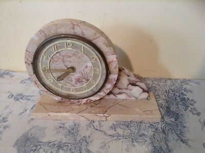 Vintage French Marble Mantle Clock (1682)