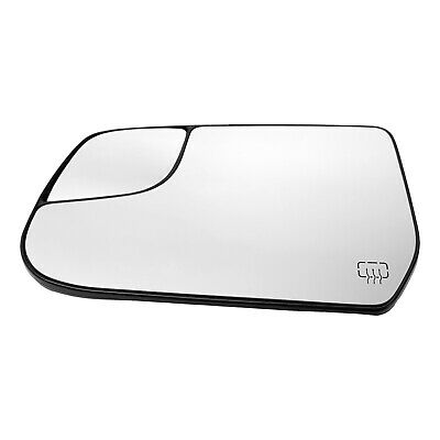 Mirror Glass For 2010-17 Chevrolet Equinox Heated Driver Side With Backing Plate