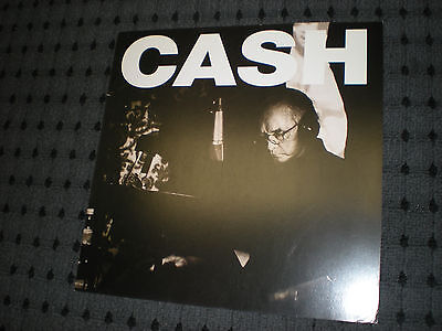 POSTER by JOHNNY CASH a hundred highways Flat for the tour album cd american v