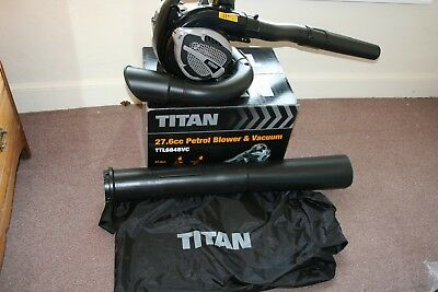 Petrol Leaf Blower Titan-Blower and vacuum!!-Good used condition