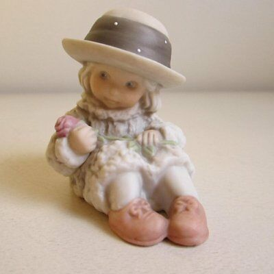 """Vintage Kim Anderson figurine # 175366 """" thinking of you """""""