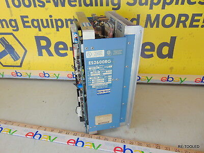 Emerson ES-2600RG DC Drive 2.0/1.0HP 1PH 120/240V USED