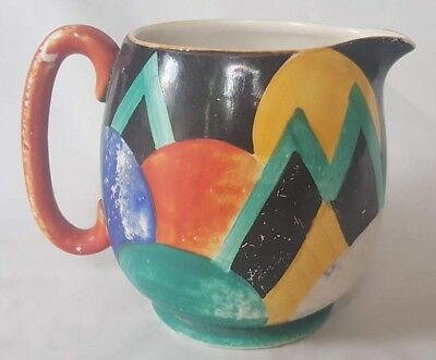 Rare Susie Cooper Grays Pottery With Moon And Mountain Design Art Deco 1920'S