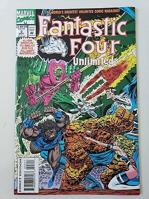 Fantastic Four Unlimited #3 (1993) Marvel Comics Giant-Size! Negative Zone!