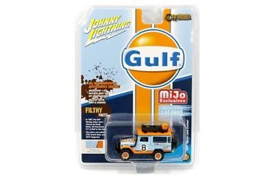 Johnny Lightning Mijo Exclusives 1980 Toyota Land Cruiser Gulf Oil Off-Road 4X4