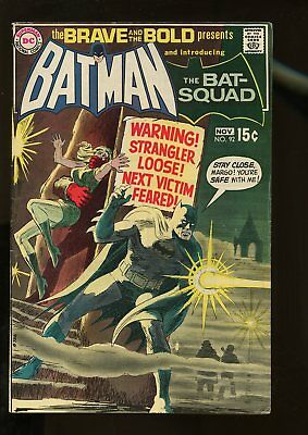 Brave And The Bold #92 Fine 6.0 Batman / Bat-Squad 1970 Dc Comics