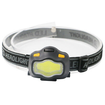 HOT COB LED Headlamp USB Rechargeable Running Headlight Head Torch