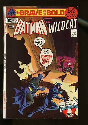 Brave And The Bold #97 Fine 6.0 Batman / Wildcat 1971 Dc Comics