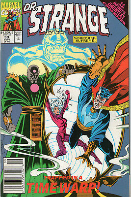 DOCTOR STRANGE # 33  - INFINITY GAUNTLET X-OVER (  3rd SERIES  - ND 1991 )