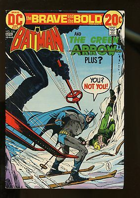 Brave And The Bold #106 Very Good+ 4.5 Batman / Green Arrow 1973 Dc Comics