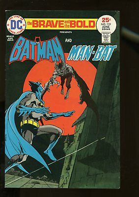 Brave And The Bold #119 Fine+ 6.5 Batman / Man-Bat 1975 Dc Comics