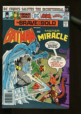 Brave And The Bold #128 Fine+ 6.5 Batman / Mister Miracle 1976 Dc Comics
