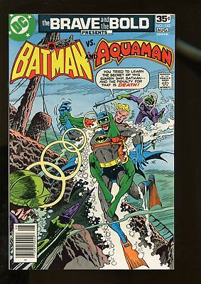 Brave And The Bold #142 Near Mint 9.4 Batman / Aquaman 1978 Dc Comics