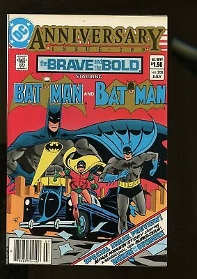 BRAVE AND THE BOLD #200 VF/NM 9.0 BATMAN / 1st KATANA & THE OUTSIDERS 1983 DC