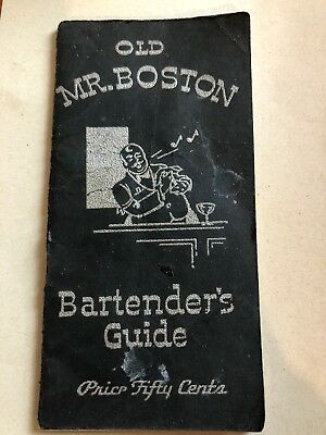 Old Mr. Boston Bartender's Guide, 1934 4th printing