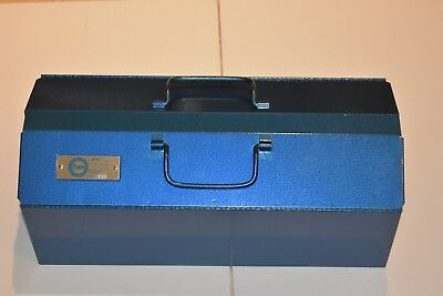 "New Vintage 1970s Champion Tool Box Chest 19 1/2"" x 8 1/2"" x 7 1/2""  Chicago"