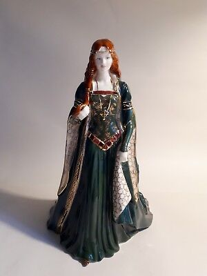 Royal Worcester Bone China Figurine. THE PRINCESS OF TARA. Peter Holland. Irish