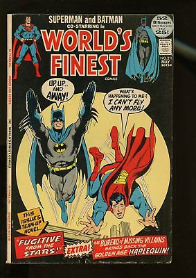 World's Finest Comics #211 Very Good 4.0 52 Pages 1972 Dc Comics