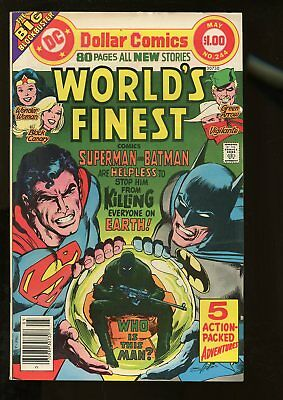 World's Finest Comics #244 Fine+ 6.5 80 Pages / Neal Adams Cover 1977 Dc Comics