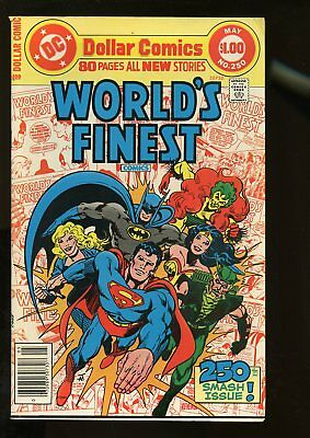 World's Finest Comics #250 Fine+ 6.5 80 Pages 1978 Dc Comics