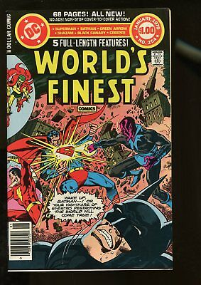 World's Finest Comics #254 Very Fine 8.0 68 Pages 1979 Dc Comics