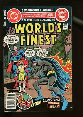 World's Finest Comics #262 Very Fine / Near Mint 9.0 Giant-Size 1980 Dc Comics