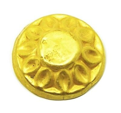 Nice 5th century B.C. Ancient Scythian Greek Gold Appliqué Repoussé Design