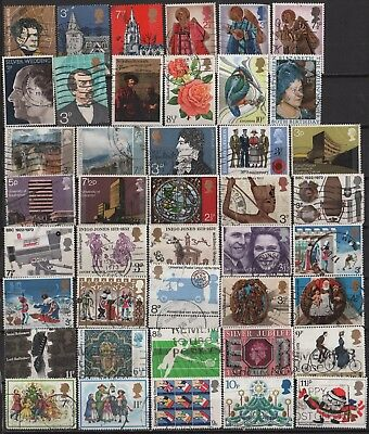 Great Britain - Large Lot of all different Decimal Era Commemoratives! 2 Scans!