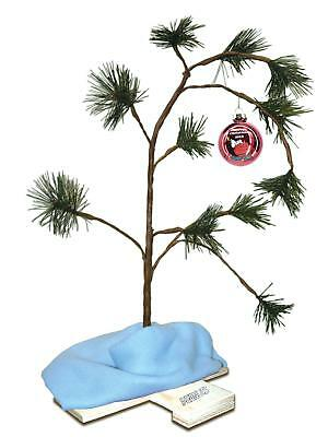 ProductWorks Exclusive 2018 24-Inch Charlie Brown Christmas Tree with Linus's...