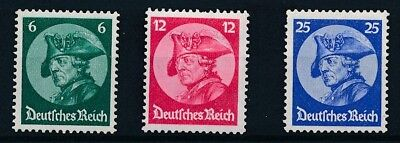 [123755] Germany 1933 good set of stamps very fine MH $62