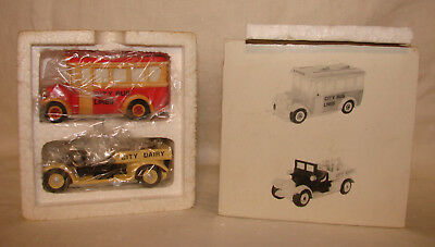 Dept 56 Heritage Village Transport Set 2 5983-8 Accessory MIB 1988