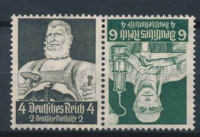 [124847] Germany 1934 good booklet pairs of stamps very fine MNH $35