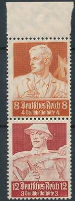 [124849] Germany 1934 good booklets part pair of stamps very fine MNH $35