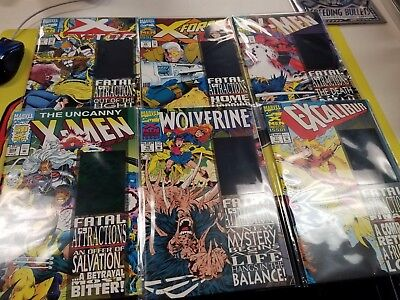 FATAL ATTRACTIONS - X-Men - Complete 6 Issue Story - MARVEL