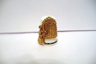 Thimble Bc & Gold-Plated Pewter Tcc's Favourite Christmas Carols '90 Silent Nigh
