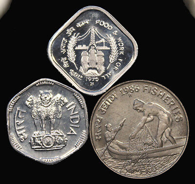 India 3 Mixed Dates Proof Coins ...