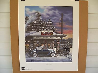 1999 Coca Cola Limited Edition Fine Art Print Signed Pamela C. Renfroe #950/950