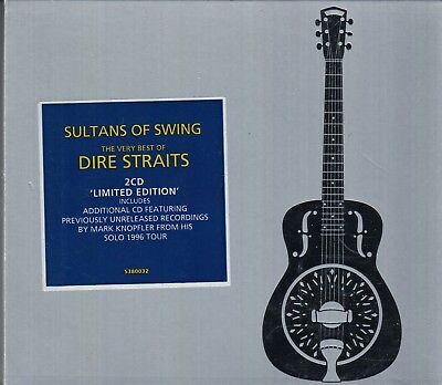 DIRE STRAITS Sultans Of Swing The Very Best Of 2-CD LTD ED W MARK KNOPFLER LIVE