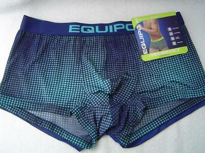 New Mens 2 Pack Equipo Brazilian Trunks Blue/aqua And Blue Size Xl 40-42