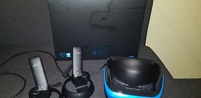 ACER Windows Mixed Reality Headset AH101 + 2 Controller OVP mit Bluetooth Dongle