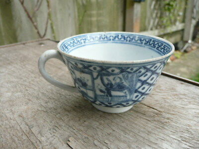 Antique Chinese Cup Hand Painted